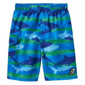 Girls 4-7 Laguna Swim Shark Print Swim Trunks