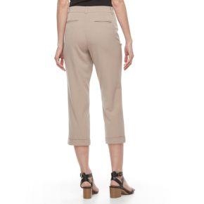 Women's Dana Buchman Crop Cuffed Dress Pants