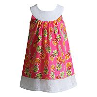 Toddler Girl Youngland Pineapple Crocheted Sundress