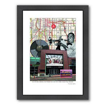 Americanflat Jazz Museum Kansas City Framed Wall Art