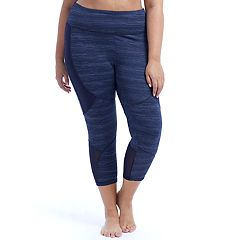 Plus Size Marika Geneva Shape Enhancing Capri Leggings