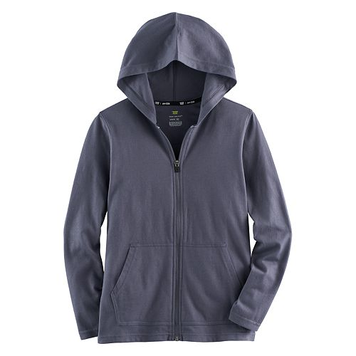 Boys 8-20 Tek Gear® Lightweight Full-Zip Hoodie