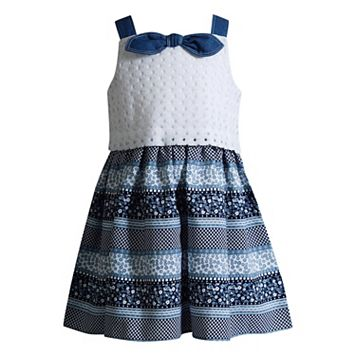 Toddler Girl Youngland Floral Crochet Dress