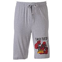 Men's Marvel Deadpool Taco Tuesday Lounge Shorts