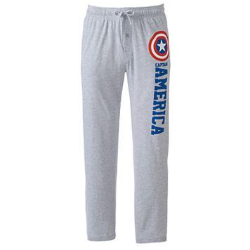 Men's Marvel Captain America Lounge Pants