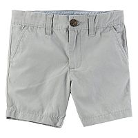 Toddler Boy Carter's Gray Flat Front Shorts