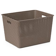 Sonoma Goods For Life Plastic Storage Bin
