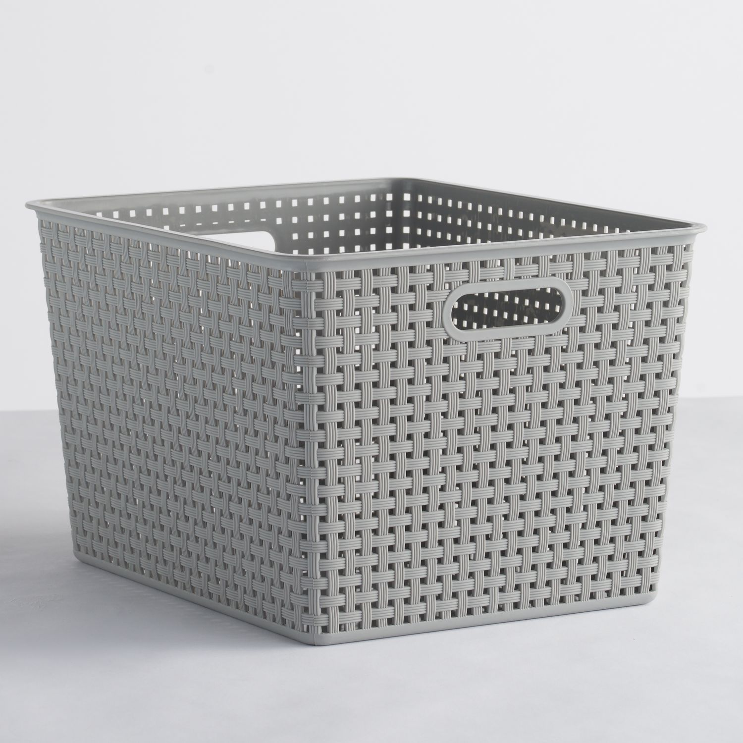 SONOMA Goods for Life™ Plastic Storage Bin  sc 1 st  Kohlu0027s & Grey Storage Bins u0026 Baskets | Kohlu0027s