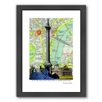 Americanflat Nelson's Column London Framed Wall Art