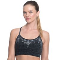 Gaiam Bras: Prism Medium-Impact Yoga Sports Bra GKW173BR11