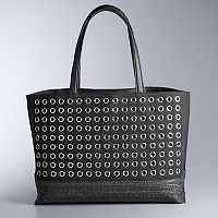 Simply Vera Vera Wang Boswell Grommet Tote