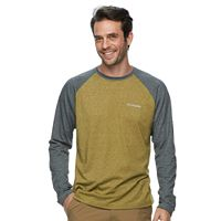 Men's Columbia Wildberry Classic-Fit Colorblock Omni-Wick Raglan Tee