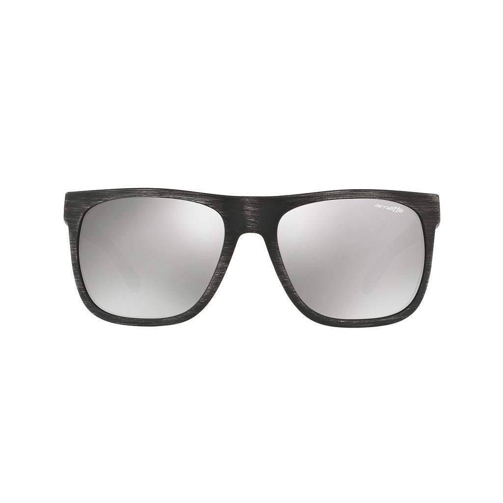 Arnette Fire Drill AN4143 59mm Square Mirror Sunglasses