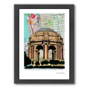 Americanflat Palace Of Fine Arts Framed Wall Art
