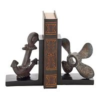 Rustic Nautical Bookends 2-piece Set