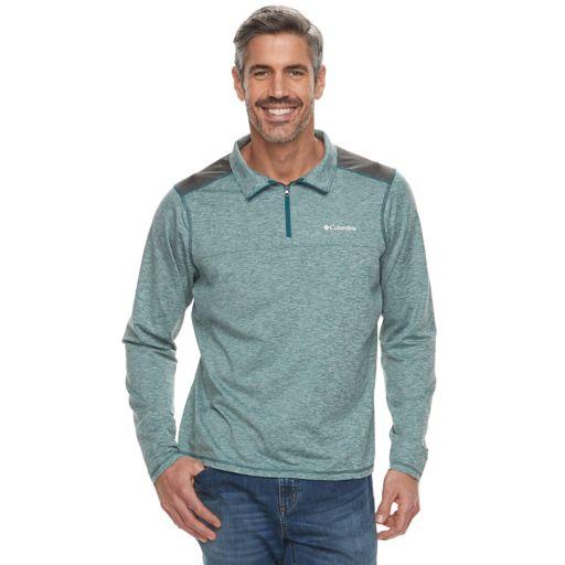 Men's Columbia Tryon Creek Classic-Fit Quarter-Zip Pullover