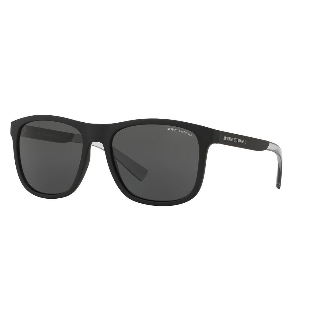 Armani Exchange Urban Attitude AX4049S 57mm Square Sunglasses