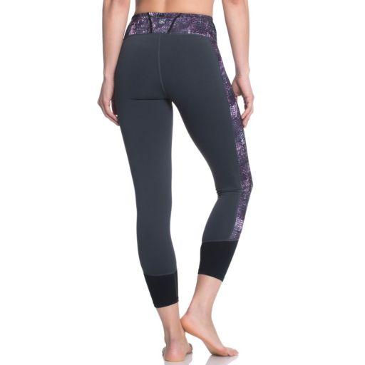 Women's Gaiam Om Charisma Yoga Capri Leggings