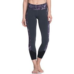 Women's Gaiam Om Charisma Yoga Capri Leggings