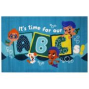 Fun Rugs Bubble Guppies ''It's Time For Our ABCs'' Rug - 3'3'' x 4'10''