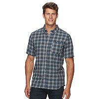 Men's Vans Grindle Plaid Button-Down Shirt