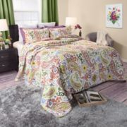 Portsmouth Home Trista Cotton Quilt Set