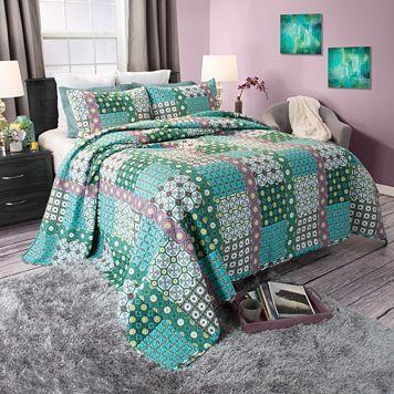 Portsmouth Home Tala Cotton Quilt Set