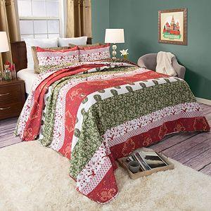 Portsmouth Home Brea Cotton Quilt Set
