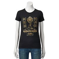 Juniors' Harry Potter Hogwarts First Year List Graphic Tee