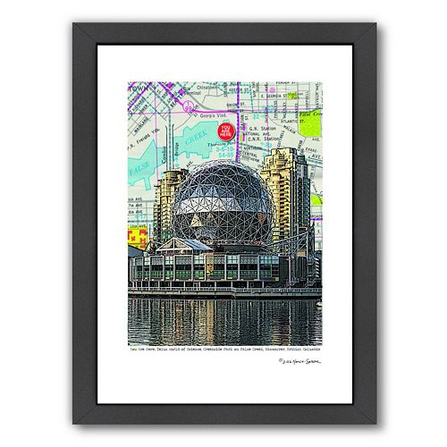 Americanflat Science World Vancouver Framed Wall Art