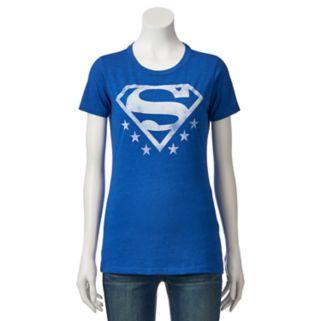 Juniors' DC Comics Superman Logo Graphic Tee
