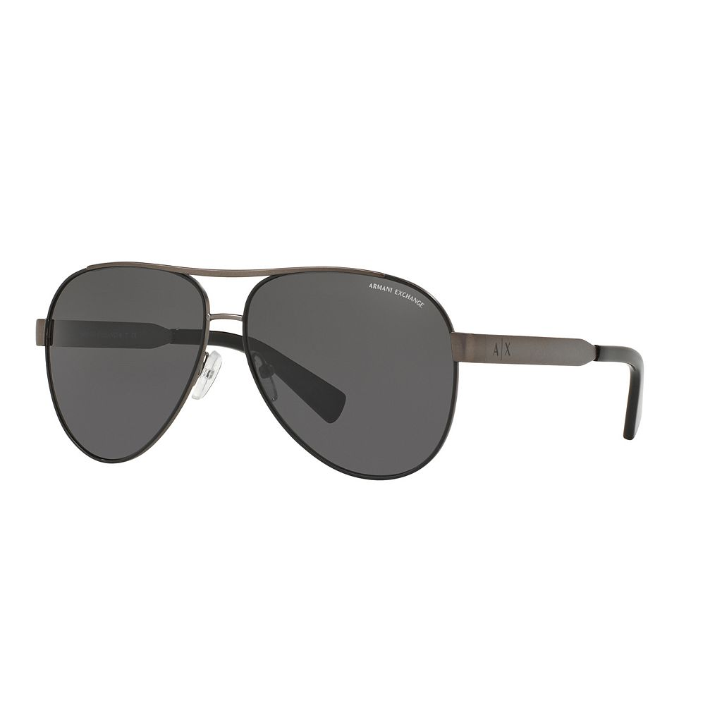 Armani Exchange Forever Young AX2018S 59mm Aviator Sunglasses
