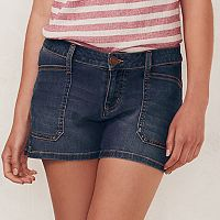 Women's LC Lauren Conrad Faded Jean Shorts