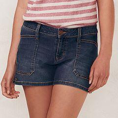 Womens Denim Shorts - Bottoms, Clothing | Kohl's