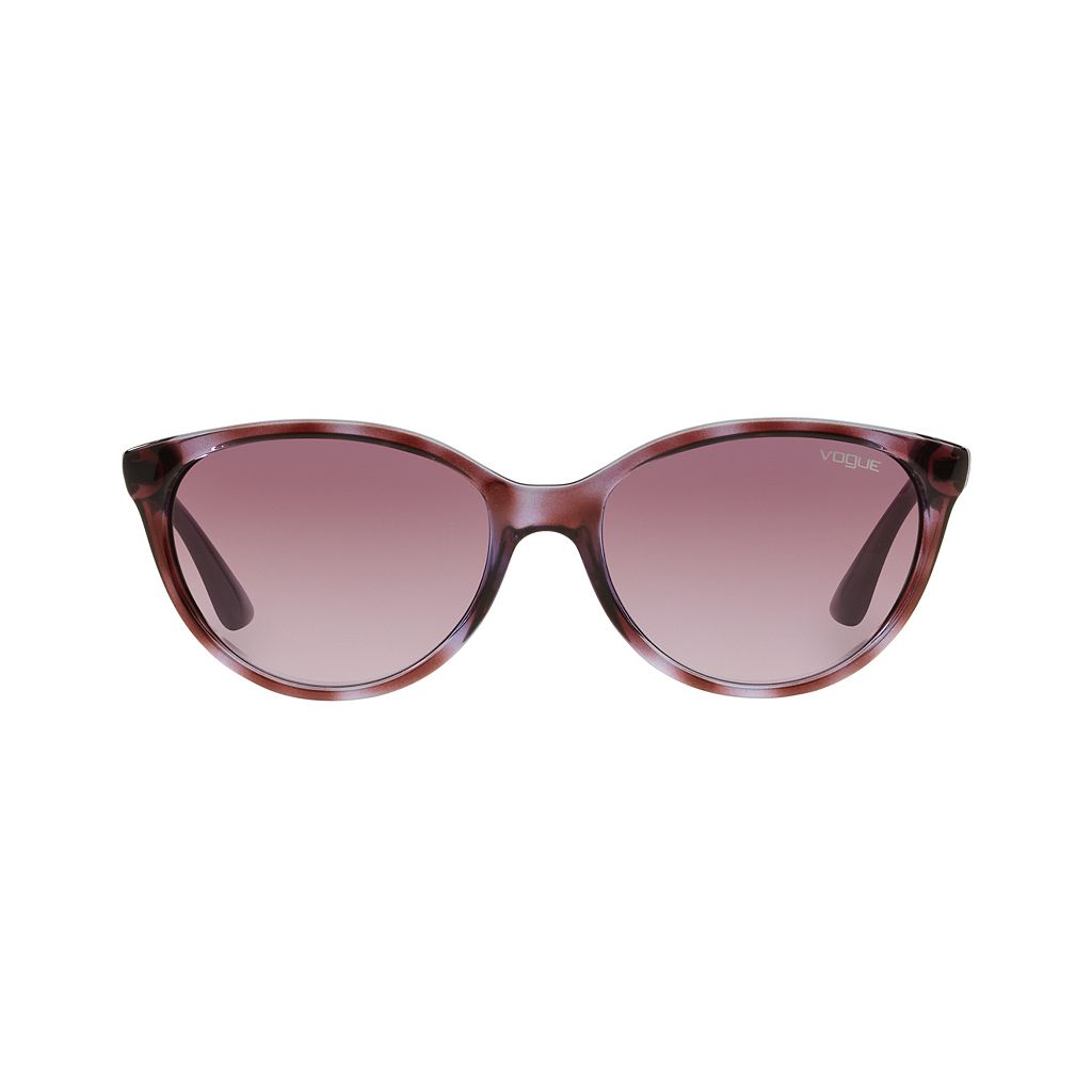 Vogue Timeless VO2894S 56mm Oval Gradient Sunglasses with Swarovski Elements