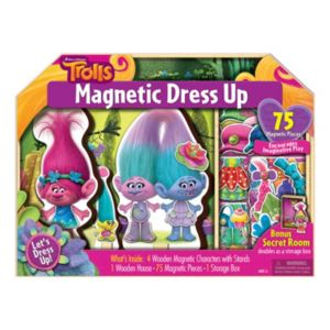 DreamWorks Trolls Magnetic Dress-Up Set!