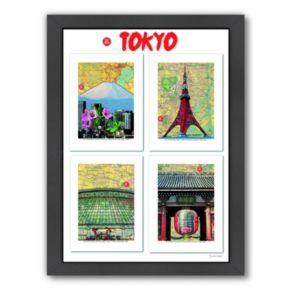 "Americanflat ""Tokyo"" Framed Wall Art"