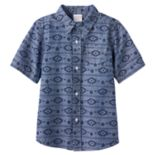 Boys 4-10 Jumping Beans® Chambray Button-Down Shirt