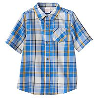 Boys 4-10 Jumping Beans® Plaid Button-Down Shirt