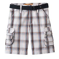 Boys 4-7x Lee Plaid Cargo Shorts