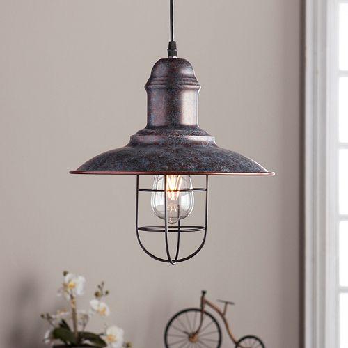 Alzo Industrial Bell Pendant Lamp
