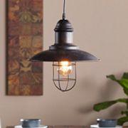 Gunderson Industrial Cage Pendant Lamp