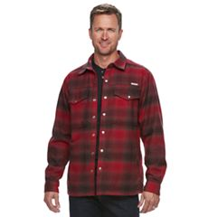 Men's Columbia Fireside Flame II Plaid Shirt Jacket