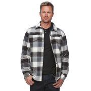 Men's Columbia Fireside Flame II Plaid Shirt Jacket