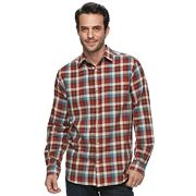 Men's Columbia Hardy Ridge Classic-Fit Plaid Button-Down Shirt