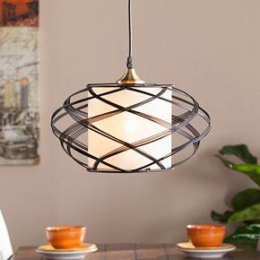 Soloff Wire Cage Pendant Lamp