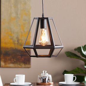 Kafig Caged Lantern Pendant Lamp