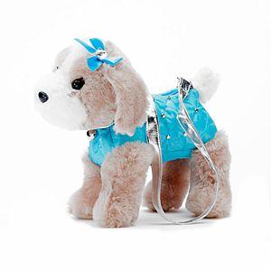 Girls Sparkly Puppy Bag