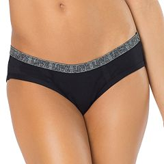 Juniors' SO® 'Love' Graphic Waist Hipster Panty
