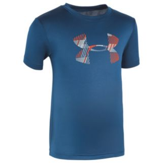 Boys 4-7 Under Armour Linear Logo Graphic Tee